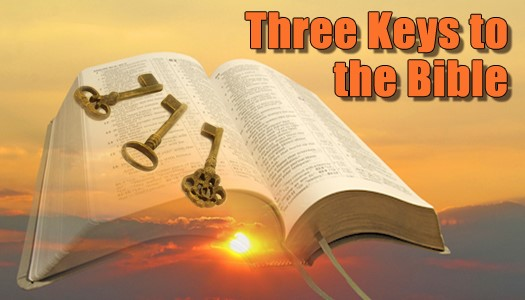 3 Keys to the Bible